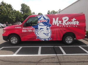 Car Full Wrap Mr. Rooter