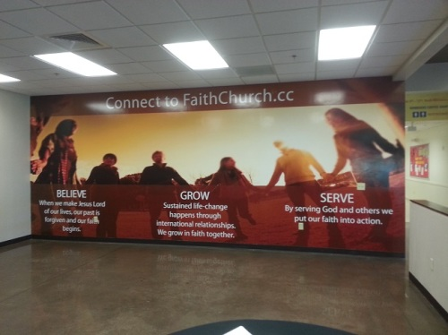 wall graphics in Danbury CT