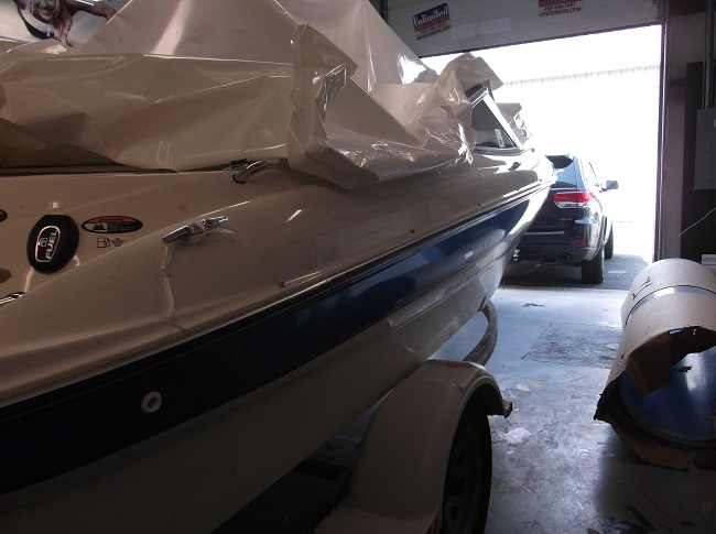 Boat Stripes Vehicle Decal   Unlimited Signs