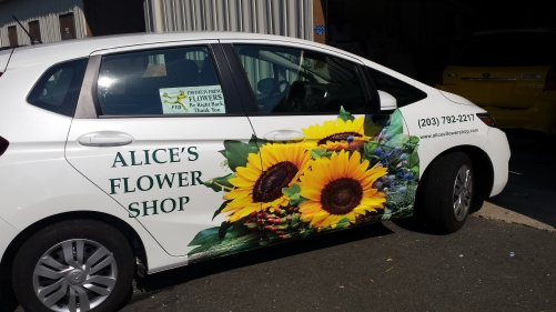Alice's Flowers Shop Unlimited Signs