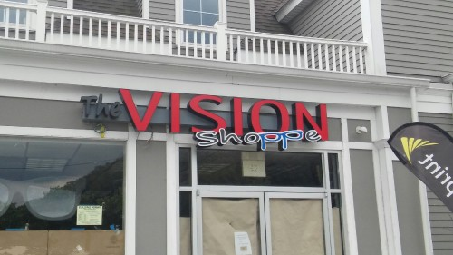 The Vision Shoppe Unlimited Signs