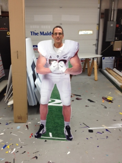 UCONN Football Unlimited Signs