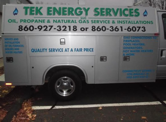 Contractor vehicle graphics Kent CT