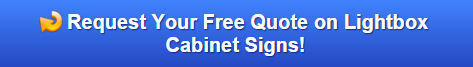 Free Quote on Cabinet Signs in Danbury and Bethel CT