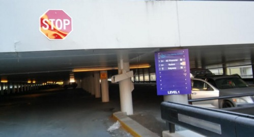 Parking Garage Signs Danbury CT