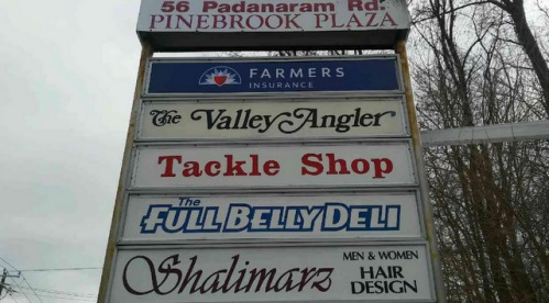 Pylon Sign Tenant Panel Inserts Danbury CT