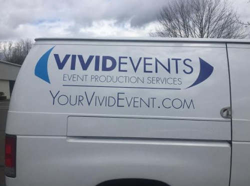 Van Graphics for Event Companies in Brookfield CT