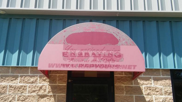 Awning Lettering | Unlimited Signs