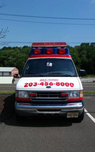 Van Graphics for Urgent Care Centers in Bethel CT
