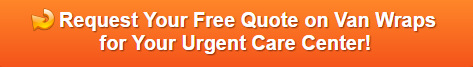 Free quote on van wraps for urgent care centers in Bethel CT