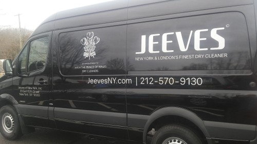 vehicle lettering in NY