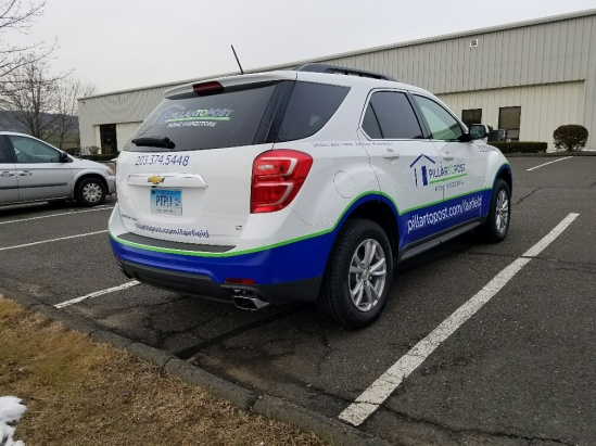 vehicle graphics  and vinyl lettering in Fairfield CT.