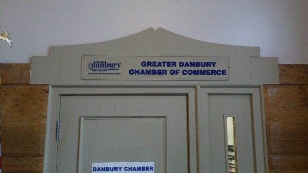 chamber of commerce signs in Danbury C