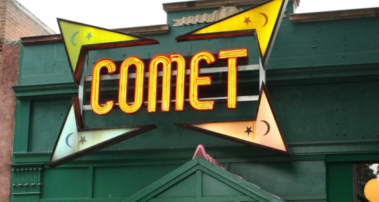 comet channel letters