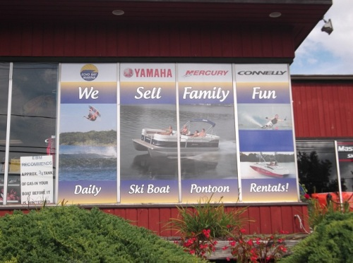 exterior signs in Danbury CT