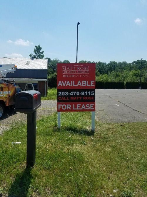 post and panel signs in Danbury CT